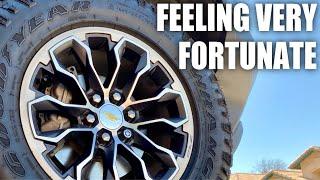 Feeling Very Fortunate