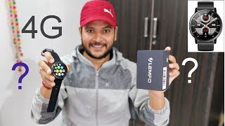 LEMFO LEMX Unboxing & Review - 4G Smartwatch Phone with Camera, 16GB ROM [HINDI]