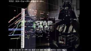 This music that is one of the music representing Star Wars was comp...