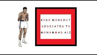 Kids Workout Dedicated to Muhammad Ali | Mawji Champs 💪💪💪 | Muhammad | Salman | Mahdi | Maysam