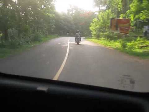 Chalakudy-Athirapally route in FZ 16