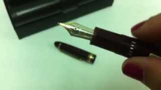 Meisterstuck traveller montblanc pluma