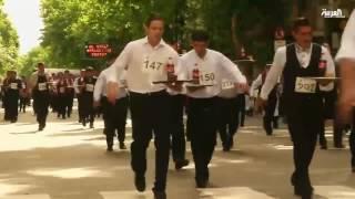 """سباق لـ""""أسرع نادل"""" في الأرجنتين"""
