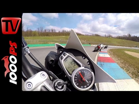 Triumph Speed Triple R | Gyrocam - 60FPS - Brünn Circuit - Onboard