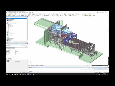 CAD + Advanced Analysis for Industrial Structures