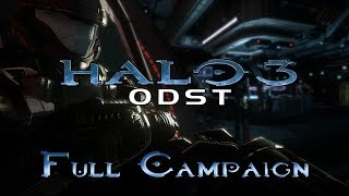 Halo 3: ODST | Full Campaign Gameplay / Playthrough [ No Commentary ]