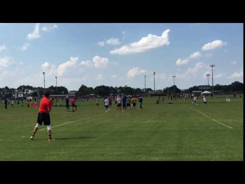 2016 Manning Passing Academy Drill1