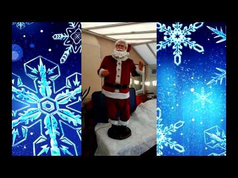 Singing Dancing Karaoke Santa Buy Now On Ebay