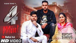 Kadir Thind 4 Mint WhatsApp Status Laddi Gill Nawab Latest Punjabi Songs 2019