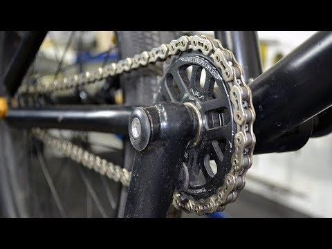Чистка и смазка цепи велосипеда. Как это сделать правильно.