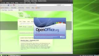 Linux Mint 9 Demo