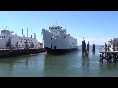 Bridgeport & Port Jefferson Steamboat Company Long Island Ferry Departs For Bridgeport, CT