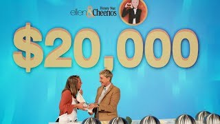 Deserving Fan Tastes Her Way to $20,000!