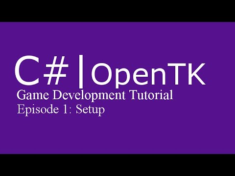 Game Development Tutorial with c# (& OpenTK) | Episode 1: Setup thumbnail