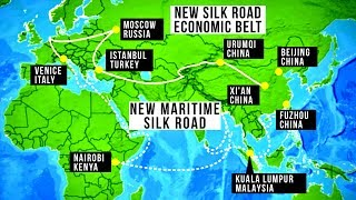 China's $1 trillion One Belt One Road (New Silk Road) initiative is...