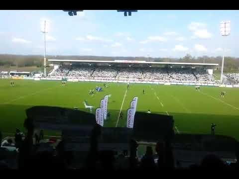 L'hymne de la Section Paloise rugby : la Honhada [+ les paroles]