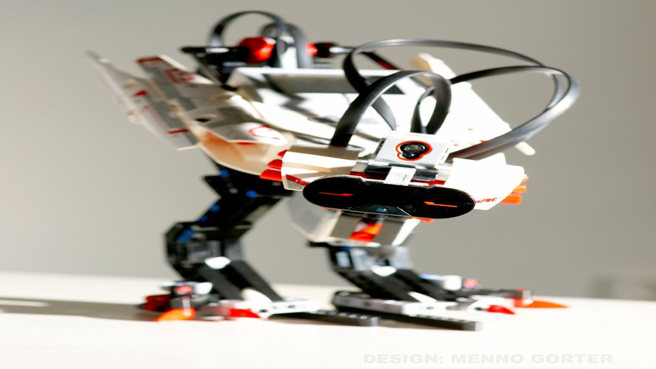 EV3-Fowl autonomous Lego biped robot - YouTube