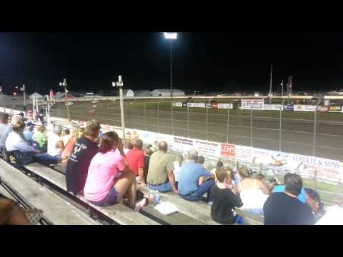 Lee county speedway hobby stock feature 7/24/15