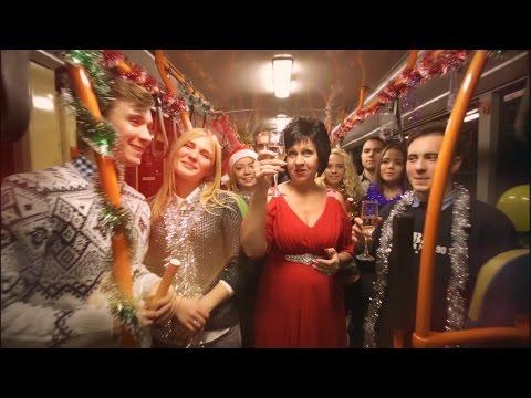 Людмила Гурченко - Пять минут (новогодняя песня из к/ф Карнавальная ночь) - 1956