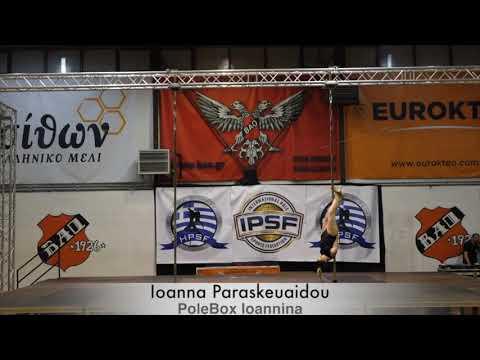 Ioanna Paraskeuaidoy - Hellenic Pole Sport Federation
