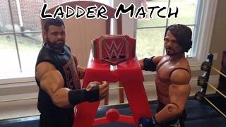 WWE Kevin Owens Vs Aj Styles Ladder match/Universal Title