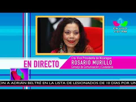 Comunicación con la Vicepresidenta Compañera Rosario Murillo, 27 de Abril 2018