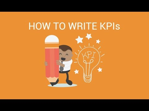 Download How to Write KPIs – 4 Step Approach