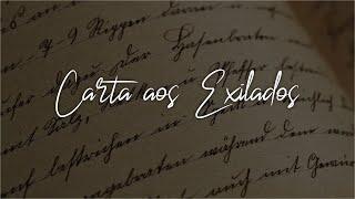 Culto 06/09/2020 - Carta aos Exilados - David Douglas