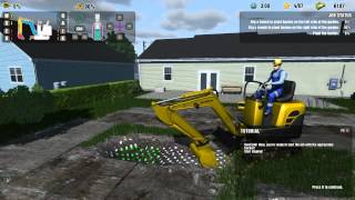 DIG IT! - A Digger Simulator Gameplay - Fixing Gardens Part 1