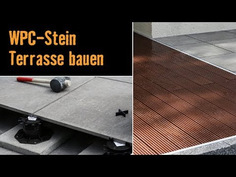 meisterschmiede wpc stein terrasse bauen youtube. Black Bedroom Furniture Sets. Home Design Ideas