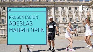 Presentación Adeslas Madrid Open | World Padel Tour