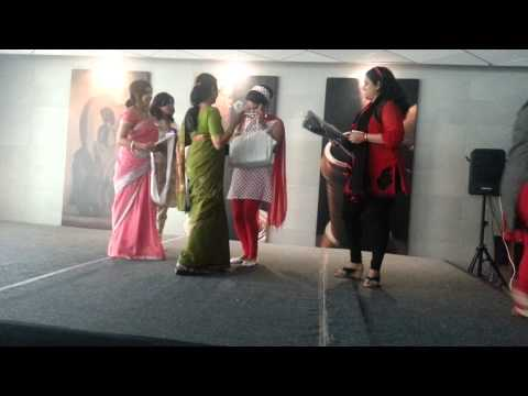 Retro Fashion Show - Women's Day @Cisco Bangalore