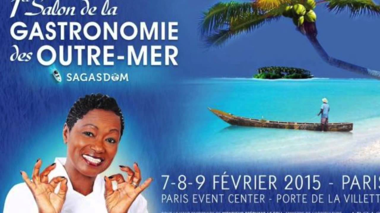 un 2 me salon de la gastronomie des outre mer en f vrier 2016 youtube. Black Bedroom Furniture Sets. Home Design Ideas