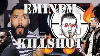 "EMINEM ""KILLSHOT"" FIRST REACTION AND REVIEW (MGK DISS) #beardedkingface"