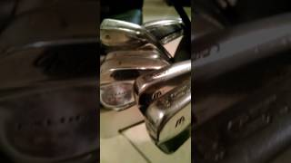 Video My Golf Clubs... Classic Mizuno MP 14's  Awesome Clubs download MP3, 3GP, MP4, WEBM, AVI, FLV Agustus 2018