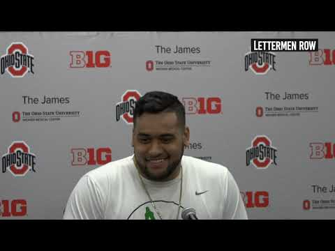 Branden Bowen: Ohio State tackle previews Florida Atlantic, talks about being a starter