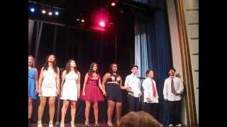 Grupo FAME a cantar musicas do filme Dreamgirls