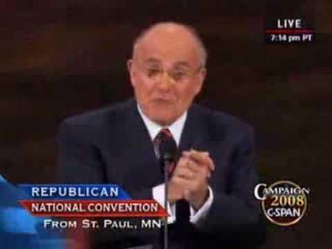Former New York Mayor Rudy Giuliani Full Speech at the RNC