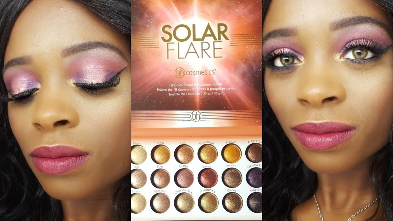 Solar Flare - 18 Color Baked Eyeshadow Palette by BH Cosmetics #22