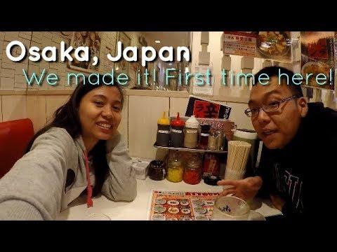 Travel Vlog #4: Osaka, Japan | Arrival | Ramen