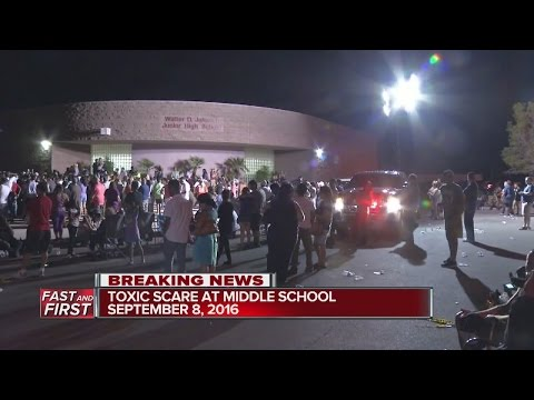 Students released from Johnson Jr. High School