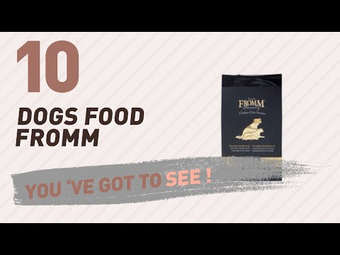 Dogs Food Fromm // Top 10 Most Popular