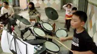 無樂不作  范逸臣-海角七號主題曲   請給小鼓手鼓勵!! 鼓勵!! show 爵士鼓 thumbnail