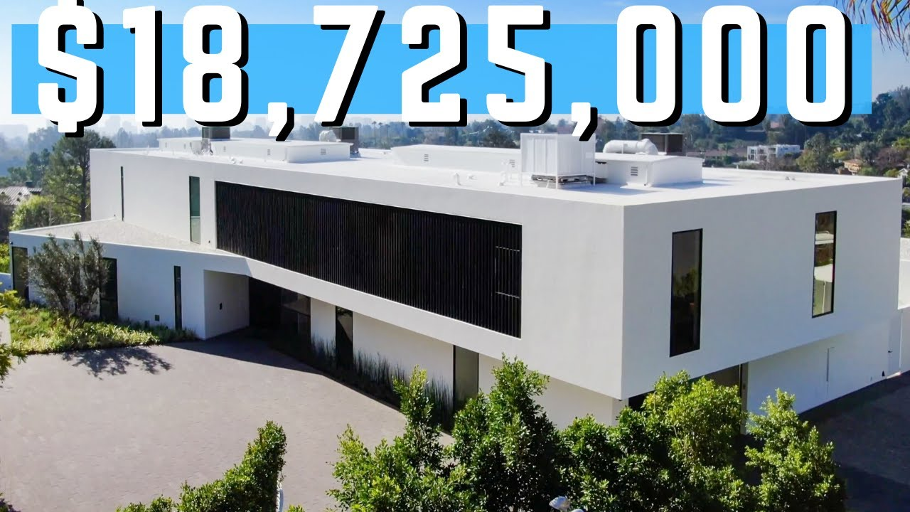 Inside This BEAUTIFUL Beverly Hills California Mansion at $18,725,000