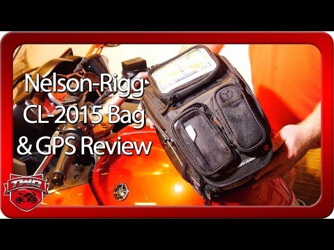 Nelson Rigg CL-2015 Journey Sport Motorcycle Tank Bag & GPS Mate Review