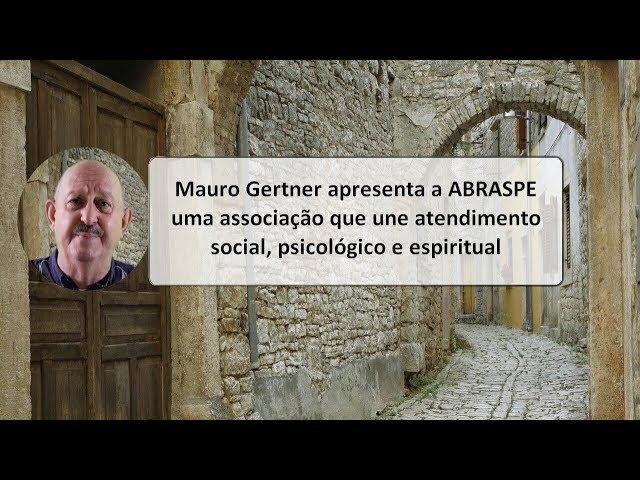 Mauro Gertner explica a Abraspe