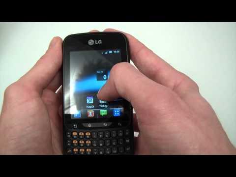 LG Optimus Pro C660 hands-on