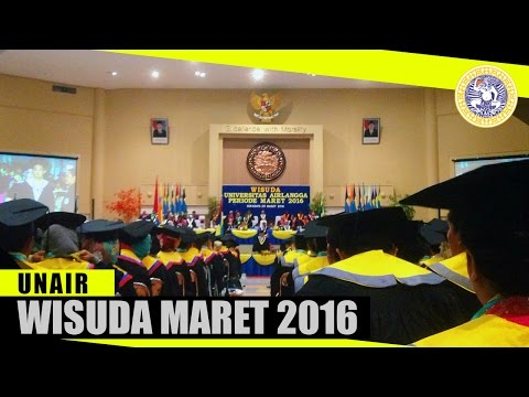 WISUDA UNAIR (19 MARET 2016)