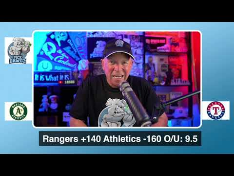 Oakland Athletics vs Texas Rangers Free Pick 8/26/20 MLB Pick and Prediction MLB Tips