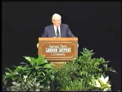 Landon Lecture | Howard Baker Jr.